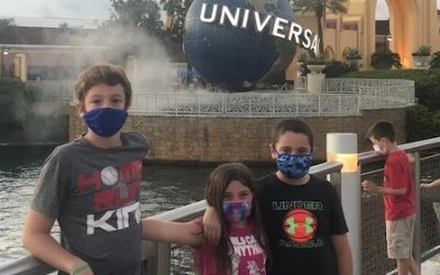 Visiting a Theme Park During a Pandemic
